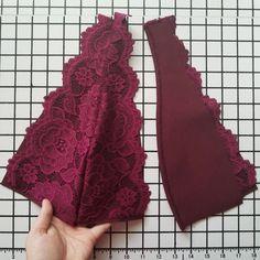 The Thyme Bodysuit - Free Sewing Pattern - Mood Sewciety Bralette Pattern, Bra Pattern, Corset Sewing Pattern, Lingerie Patterns, Sewing Lingerie, Sewing Patterns Free, Free Sewing, Diy Bralette, Sewing Lace