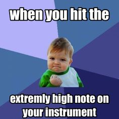 and sprain your lips from the tight embouchure you had to maintain to do it LOL
