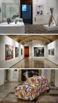 """Exposiciones en el Casal Solleric:  """"Fotografia i Turisme a les Balears"""" de Josep Planas i Montanyà """"Paradís, Caos i Mort"""" de Juan Segura """"MX 05"""" de Javier Velasco"""