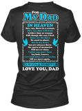 Discover Dad In Heaven T-Shirt from The Guardian Angel Store, a custom product made just for you by Teespring. With world-class production and customer support, your satisfaction is guaranteed.