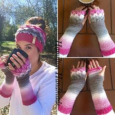 Thank you for your interest in my pattern. This pattern includes instructions for the gloves only. You can sell any finished items from this pattern but not the pattern itself. I have had my pattern tested by multiple testers but we are all human so please let me know if any errors are still in my pattern. Happy hooking!
