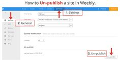 It's only a simple 3 steps, but a vital one... if you didn't know how to un-publish your Weebly website then this is a great tutorial to help.