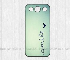 Smile Samsung Galaxy S3 Case - Samsung Galaxy S4 Cover Case Skin on Etsy, $8.99