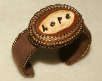 Free Bracelet Making Project: Make a Simple Bead Embroidered Cuff Bracelet - Daily Blogs - Beading Daily