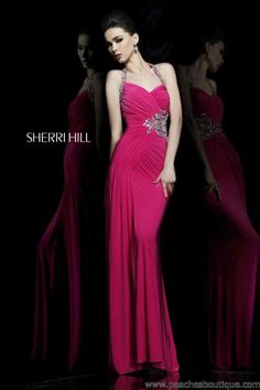Sherri Hill Prom Dresses and Sherri Hill Dresses 11041 at Peaches Boutique