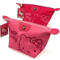Hello Kitty cosmetic bag toilet bag shutting the women included cute cartoon fashion pack waterproof