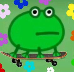 Cute Memes, Really Funny Memes, Stupid Funny Memes, Peppa Pig, Frog Pictures, Cute Profile Pictures, Sapo Meme, Amazing Frog, Frog Meme