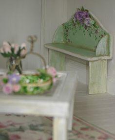 Carolyn's Little Kitchen: bedroom