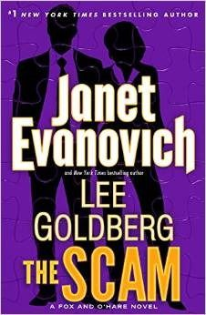 The Scam by Janet Evanovich and Lee Goldberg. Love this series!