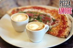 Get a cup of Coffee-Lemon Tea FREE on the purchase of Large Pizza only 80 AED.
