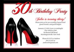 STILETTO SHOES Birthday Party Bachelorette by PaperHeartCompany, $15.00