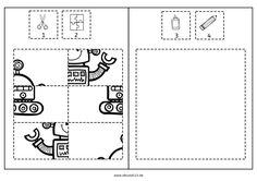 puzzle template four piece jigsaw puzzle template