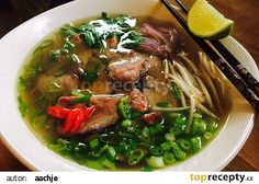 Pho Bo, Clean Recipes, Ramen, Keto, Ethnic Recipes