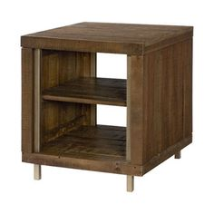 Hammary Furniture - High Point, NC - FLASHBACK :: RECTANGULAR END TABLE Used as nightstands - need 2