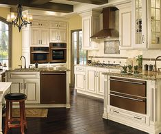 Jenn-Air Oiled Bronze Dishwasher | Oiled bronze appliances by Jenn-Air.