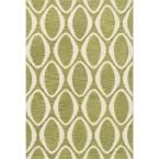 Taylor Lifestyle Collection Lime/Ivory (Green/Ivory) 5 ft. x 7 ft. 6 in. Area Rug