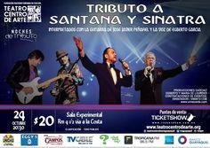 Tributo a Santana y Sinatra 24 Octubre