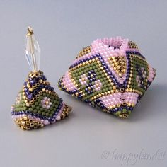 Beaded box n9 by Happyland87 on Etsy, $10.00