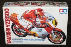 Vintage Tamiya Yamaha YZR500 OW70 Model Kit 1 12 Scale Straight Run Rider | eBay