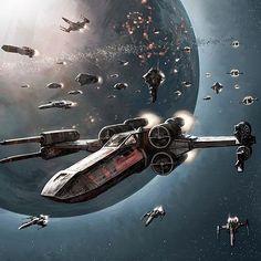 Star Wars Forever - Star Wars Ships - Ideas of Star Wars Ships - margaretems: The Rebel Fleet Star Wars Fan Art, Star Trek, Nave Star Wars, Star Wars Concept Art, Star Wars Ships, Star Wars Rebels, Starwars, X Wing, Star Wars Vehicles