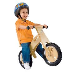 Kids Wooden Training Bike