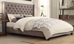 Skyline Upholstered Gas-Lift Bed