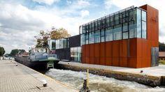 Genomineerden Staalbouwwedstrijd 2012: Bedieningsgebouw sluis en bruggen, Rijkevorsel