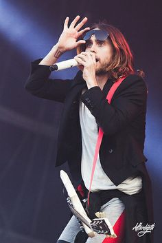 Thirty Seconds To Mars, Jared Leto.