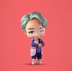Ok do i have to cry now? I want just onnne. Bts Kim, Kim Namjoon, Kim Taehyung, Seokjin, Rapmon, Bts Rap Monster, Bts Chibi, Jung Hoseok, J Hope Dance
