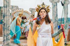 Shambala Festival 2016  Beautifull godess headress I made for Shambala Festival welcome party. Atlantis Mermaid Goddess inspired