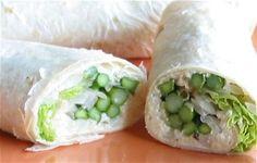 asparagus wraps    www.vegancoach.co...