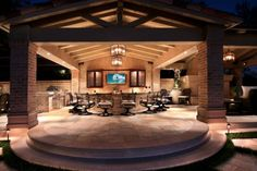 Focal Point in an Outdoor Space
