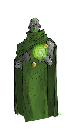 Dr. Doom - Darren Rawlings