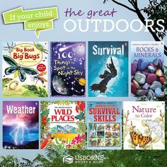 If you child enjoys the great outdoors, teach them with these USborne Books! http://www.DaniellesBooks.com