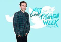 Twitter : la Fashion Week sans langue de bois de Loïc Prigent - ELLE