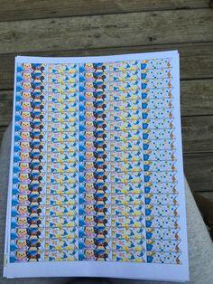 Tsum tsum page flags free printable