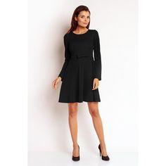 Black Bow Belted Dress LAVELIQ