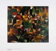 Paul Klee - Landschaft mit gelbem Kirchturm