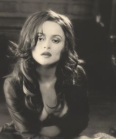 Helena Bonham-Carter - as a non comical looking character ... just beautiful