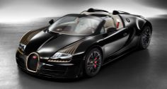 The 2014 Bugatti Black Bess is powered by hp, quad-turbo engine - same engine powers the Veyron Grand Sport Vitesse. The car exterior is painted in rich black with gold accents. You bet, one of three Bugatti is going to Saudi Arabia. Bugatti Veyron, Bugatti Cars, Lamborghini, Bugatti Models, Ferrari 458, Ford Models, Vin Diesel, Sexy Cars, Hot Cars