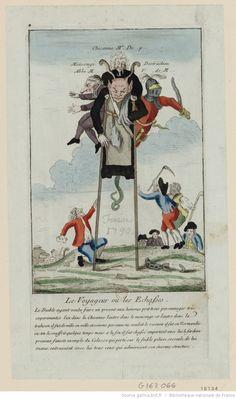 Le Voyageur ou les Echasses : Le Diable ayant voulu faire un present aux hommes…