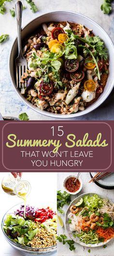 15 Filling Summer Salads That You Should Bookmark