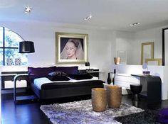 lavish lavender bedroom design