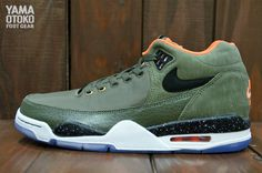 Nike Flight Squad Olive Detailed Pictures