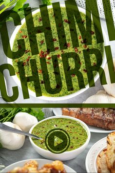 This easy to make Chimichurri Sauce is perfect to use as a marinade or to accompany beef and grilled meats. Full of fresh herbs and tangy vinegar, it brings a zesty flavor with a tiny hint of heat. Sauce Recipes, Dip Recipes, Cooking Recipes, Healthy Recipes, Stay At Home Chef, Sauces, Starbucks Recipes, Cheese Appetizers, Food Videos