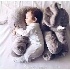 Yumuşak Dokulu Peluş Fil Oyuncak Yastık - Uyku Yastığı GittiGidiyor'da 244673094