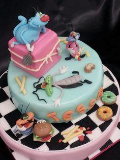 Torte Oggy e i maledetti scarafaggi