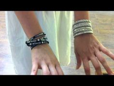 Visit our website to watch a short video on how to wear a good works humanity bracelet.