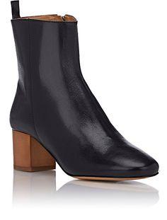 Spring Showers / Isabel Marant Étoile Drew Ankle Boots / Garance Doré