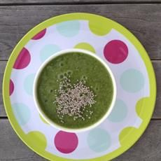 Daily Greens Smoothie - I Heart Scratch Recipes Kale And Spinach, Baby Spinach, Smoothie Bowl, Smoothie Recipes, Smoothies, Spinach Leaves, Lunches And Dinners, Vegan Vegetarian, Dairy Free